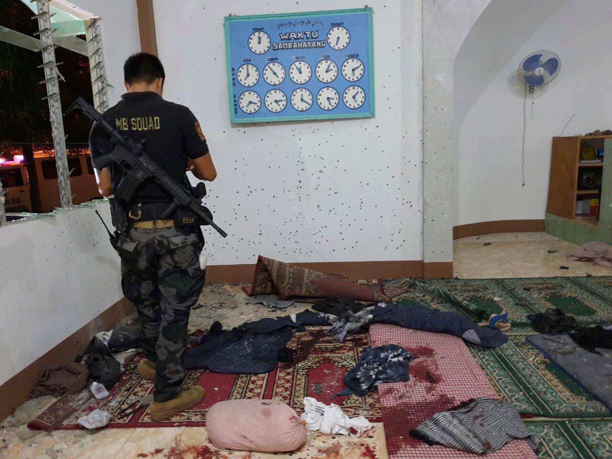 Philippines mosque attack (AP)