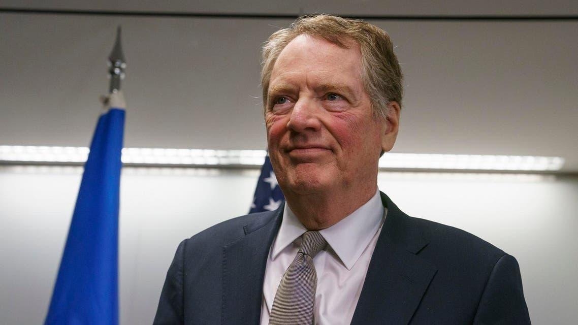 US Trade Representative Robert Lighthizer. (AP)