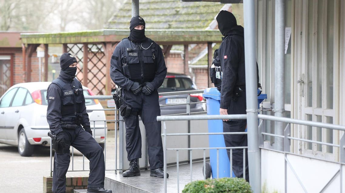 German police commandos arrested three Iraqis suspected of planning an attack. (AFP)
