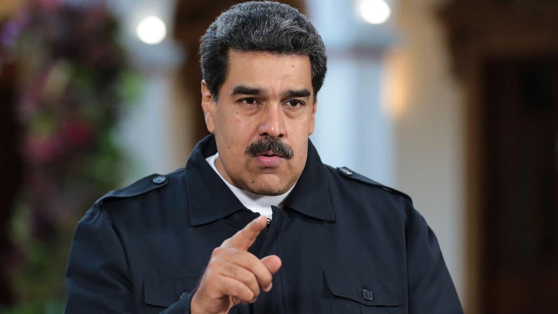 Venezuelan President Nicolas Maduro said on Wednesday that he is willing to negotiate with the oppostion. (AFP - Venezuelan presidency / Francisco Batista)