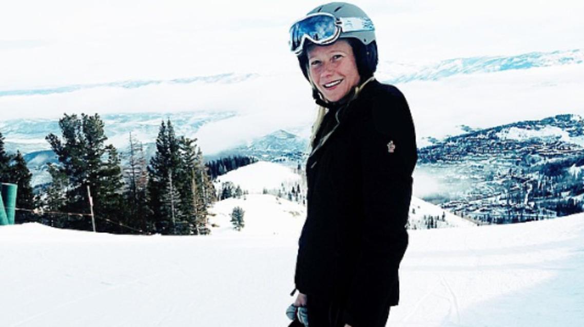 Gwyneth Platrow ski (Instagram)
