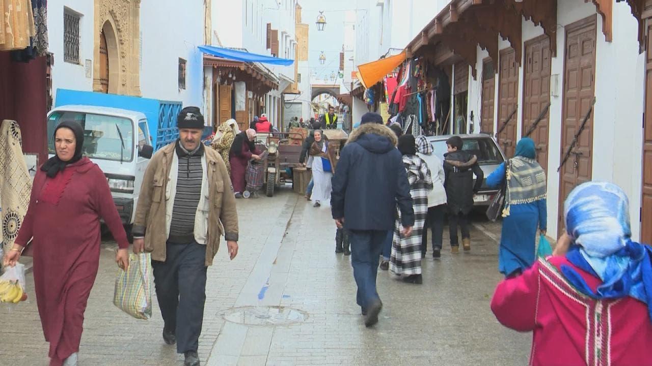سوق شعبي في النغرب