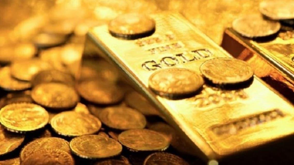 كل ازنصة من الذهب سعرها 1315 دولار تقريبا