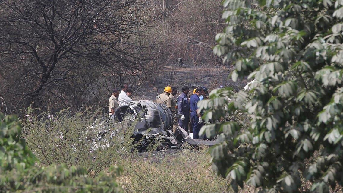 مقتل طيارين هنديين إثر تحطم طائرة ميراج