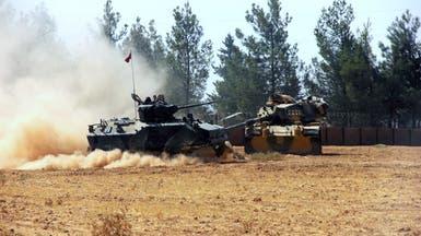 المدفعية التركية تقصف مناطق شمال سوريا