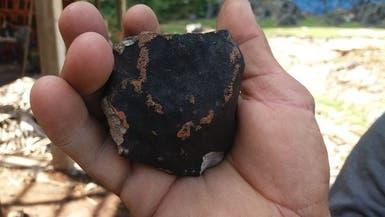 هل شاهدت حجارة سقطت من السماء؟ إليك الصور