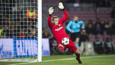 برشلونة يفقد حارسه الهولندي سيليسن 6 أسابيع