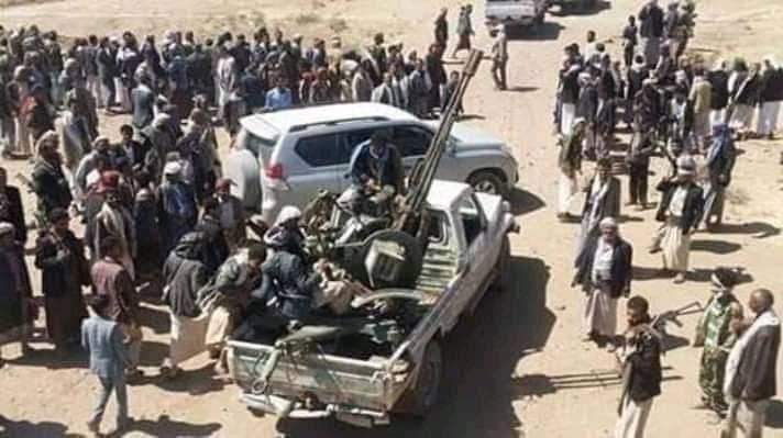 احتشاد لقبائل حجور في مواجهة الحوثيين