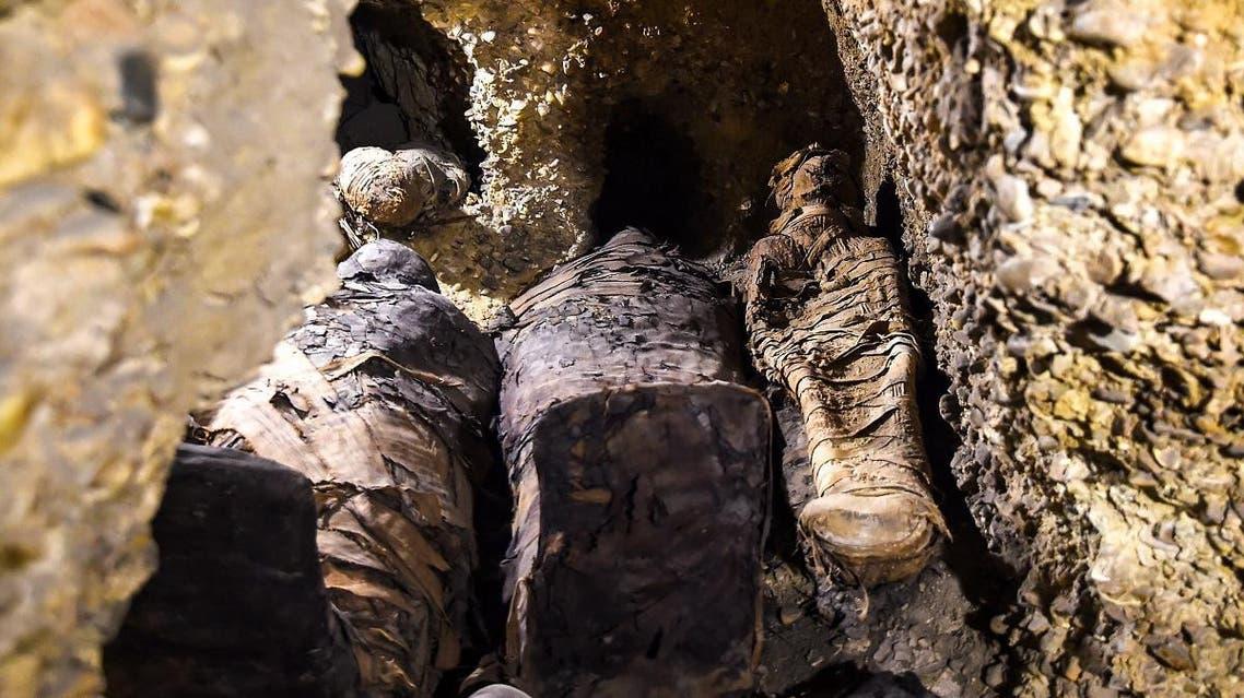 Mummies Ptolemaic era Egypt (AFP)