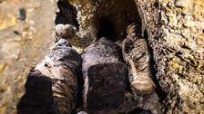 Burial chambers, mummies found at site in Egypt