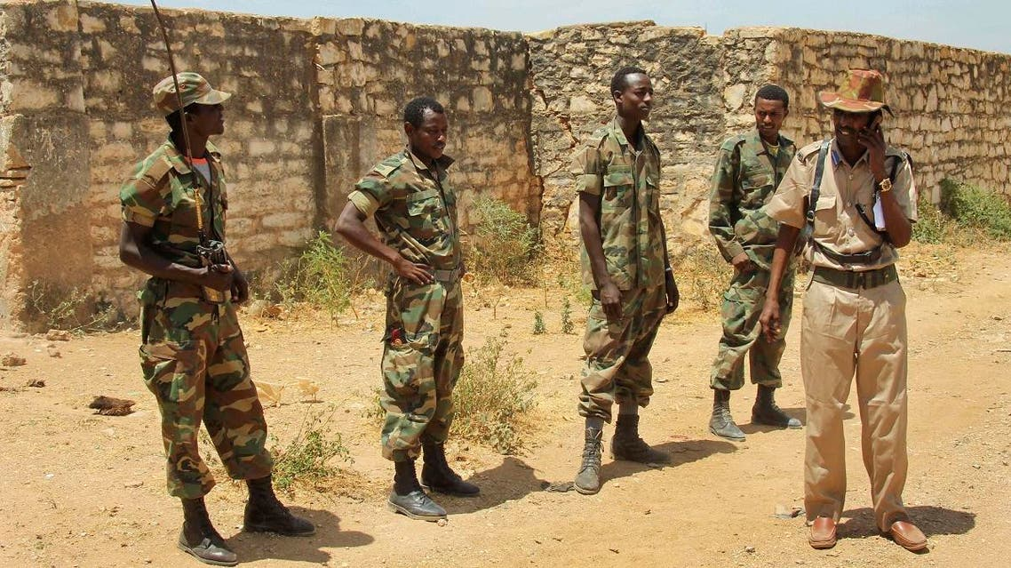 In this Wednesday, Feb. 29, 2012 file photo, Ethiopian soldiers patrol in the town of Baidoa in Somalia. (File photo: AP)