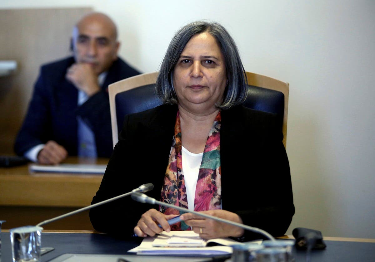 Turkey Kurdish Gultan Kisanak Mayor of Diyarbakir (AP)