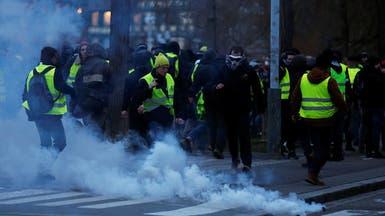 فرنسا.. صدامات بين الشرطة ومحتجي السترات الصفراء