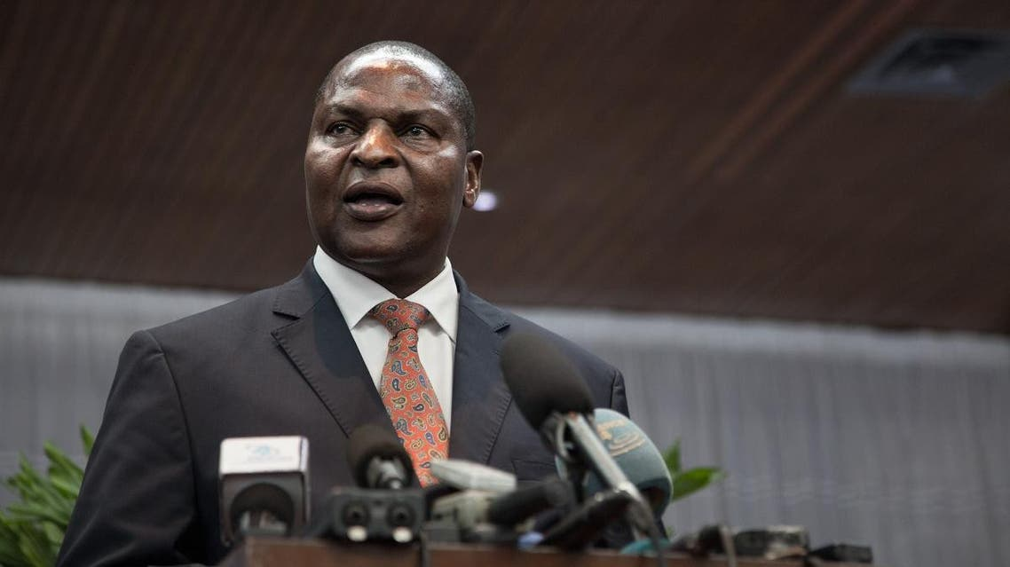 Central African President Faustin Archange Touadera (AFP)