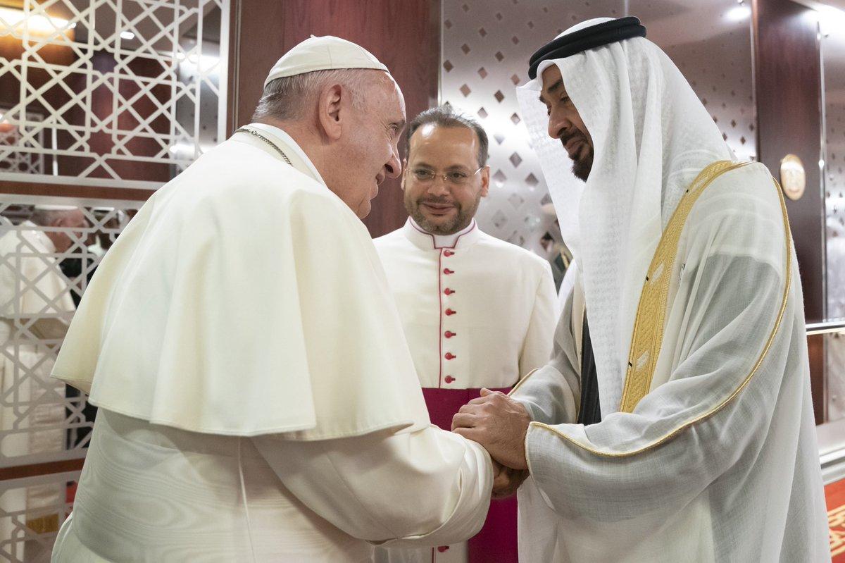 Pope Francis UAE 1 (WAM)