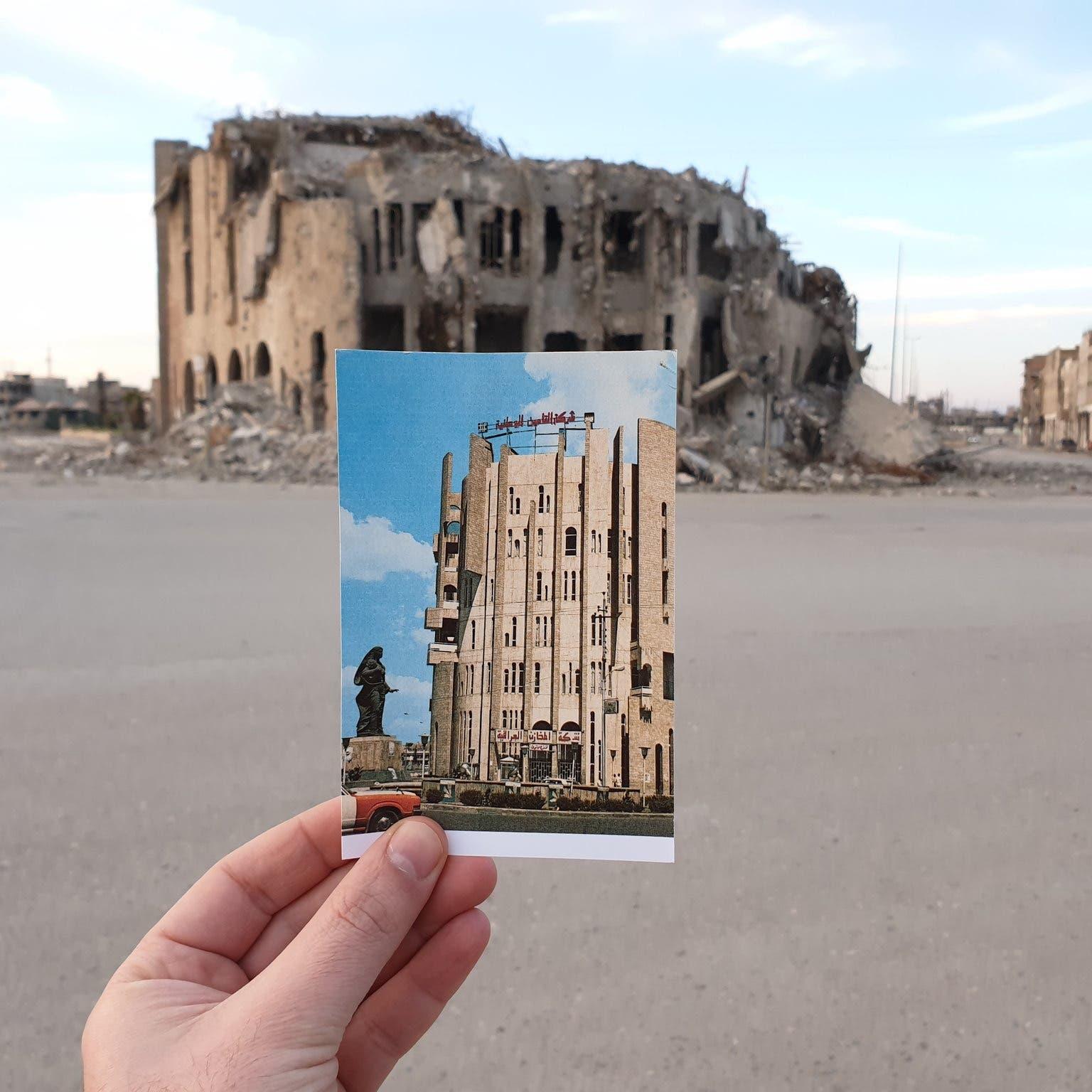 """قصة مبنى """"التأمين"""" في الموصل.. منصة إعدام شباب المدينة"""