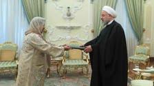 ایران میں پاکستان کی پہلی خاتون سفیر نے باقاعدہ ذمہ داری سنبھال لیں