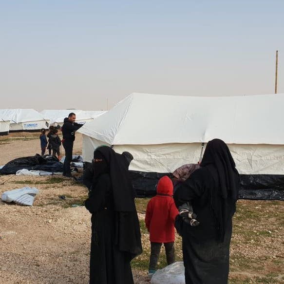 مسؤول كردي: 9 آلاف من عائلات داعش موجودون بمخيم الهول