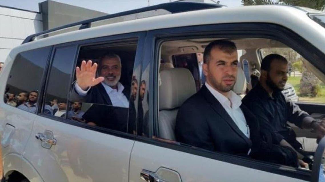 Hammas delegation arrived in egypt