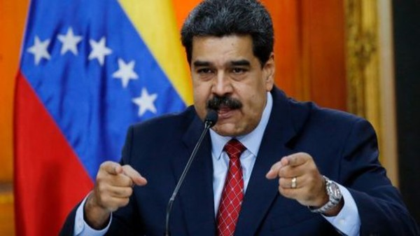 مادورو: العقوبات الأميركية على بنك فنزويلا غير قانونية