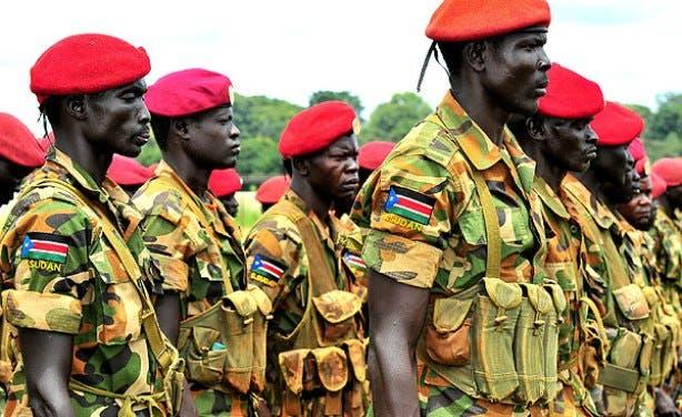 قوات من جيش جنوب السودان