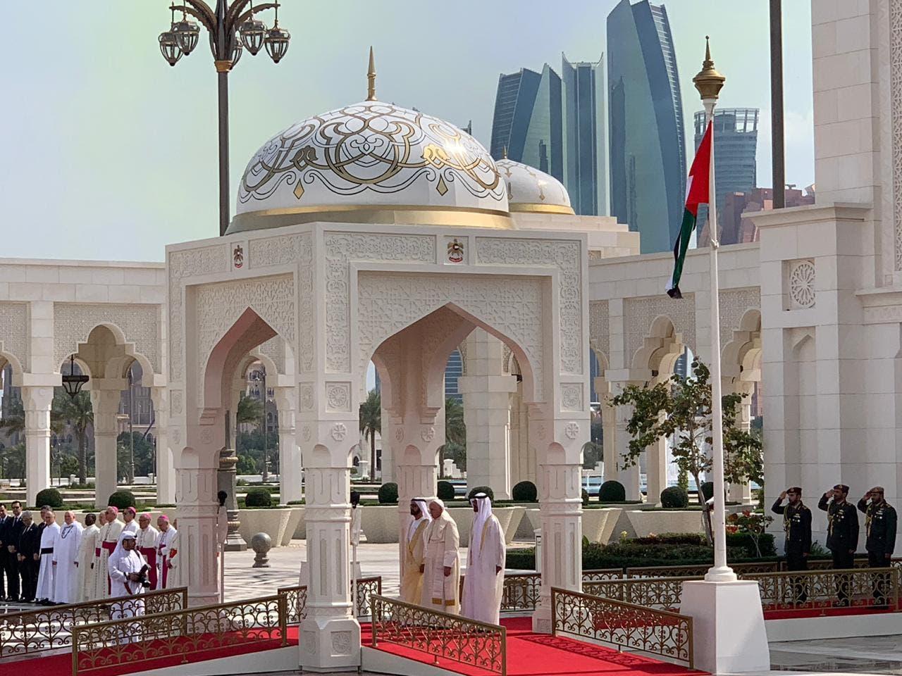 Pope visit to Abu Dhabi (Al Arabiya)