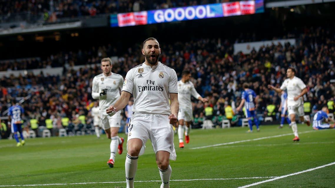 ريال مدريد ألافيس