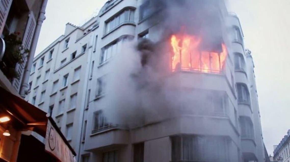 حريق باريس