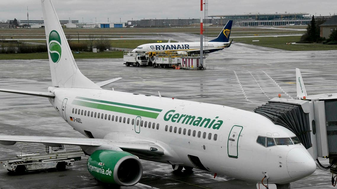 German airline Germania filed for insolvency Tuesday and grounded its planes. (File photo: AP)