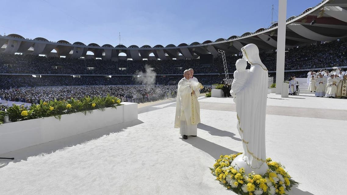 Pope Francis. (AFP)