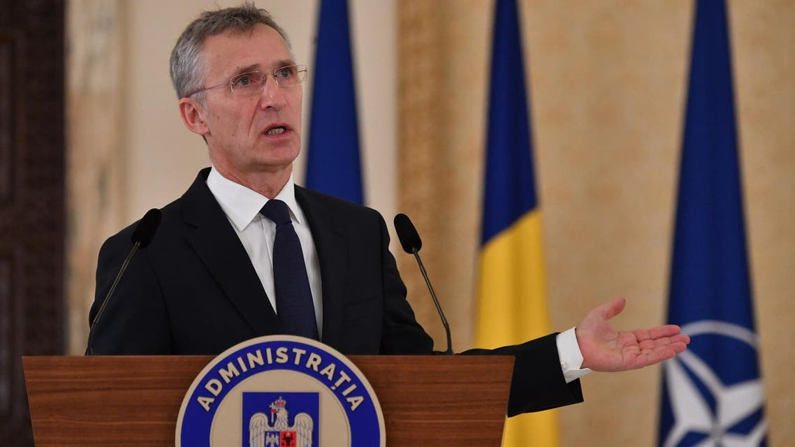 Secretary General Jens Stoltenberg said the leaders of NATO's 29 countries will gather in London in December. (File photo: AFP)
