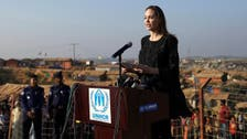 Angelina Jolie visits Rohingya camps, says refugees' plight 'shames us all'