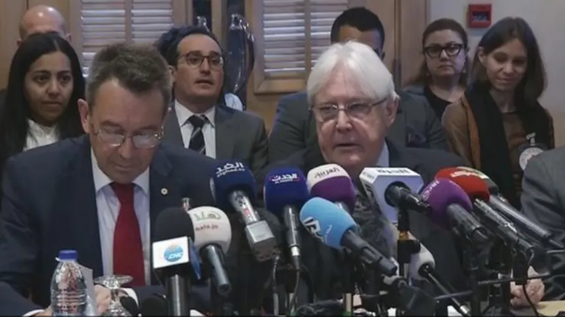 مارتین گریقیتس نمانیده سازمان ملل متحد در امور یمن در اردن