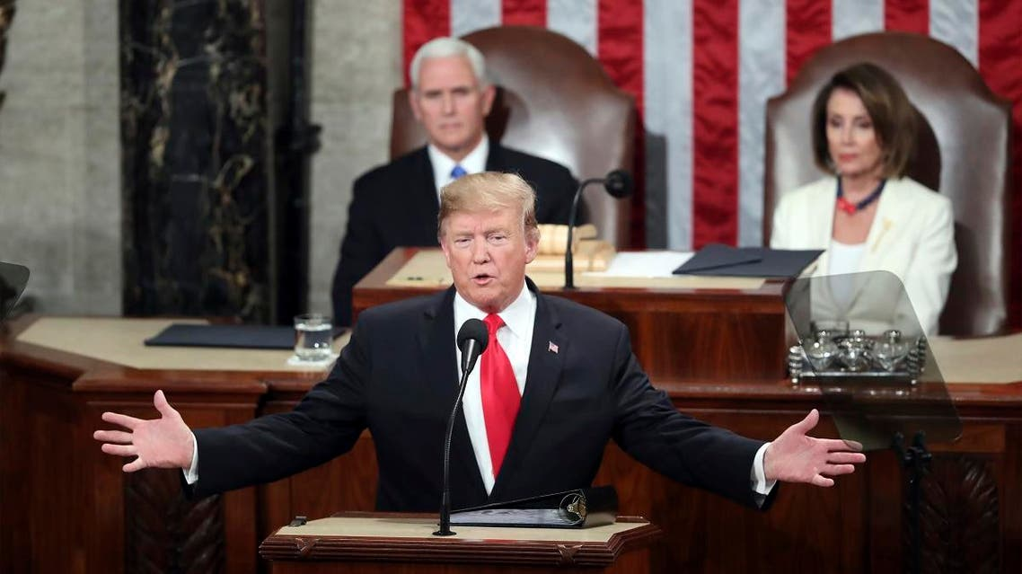 Trump State of the Union. (AP)