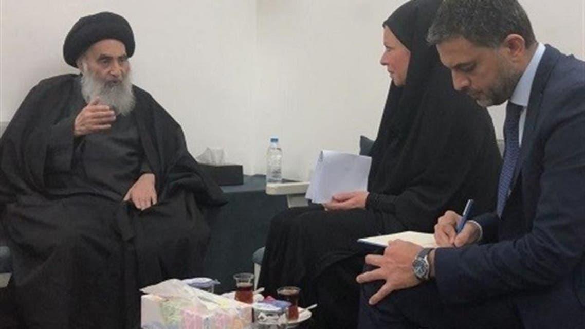 آیتالله سیستانی: سلاح در عراق باید تنها در دست حکومت باشد