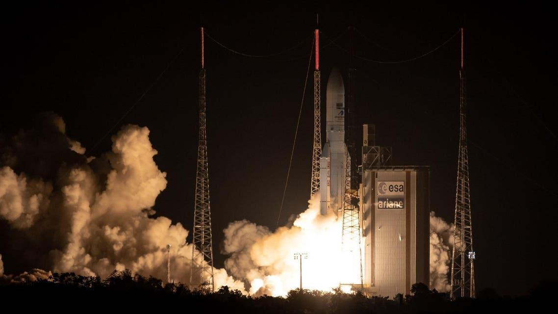 Saudi satellite on Arianespace (AFP)