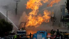 Flames from San Francisco gas explosion damage five buildings