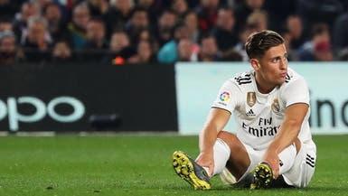 يورينتي يغيب ثلاثة أسابيع عن ريال مدريد