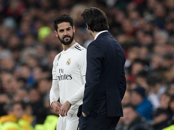 إيسكو يخرج مصاباً من تدريبات مدريد ويغيب عن الديربي