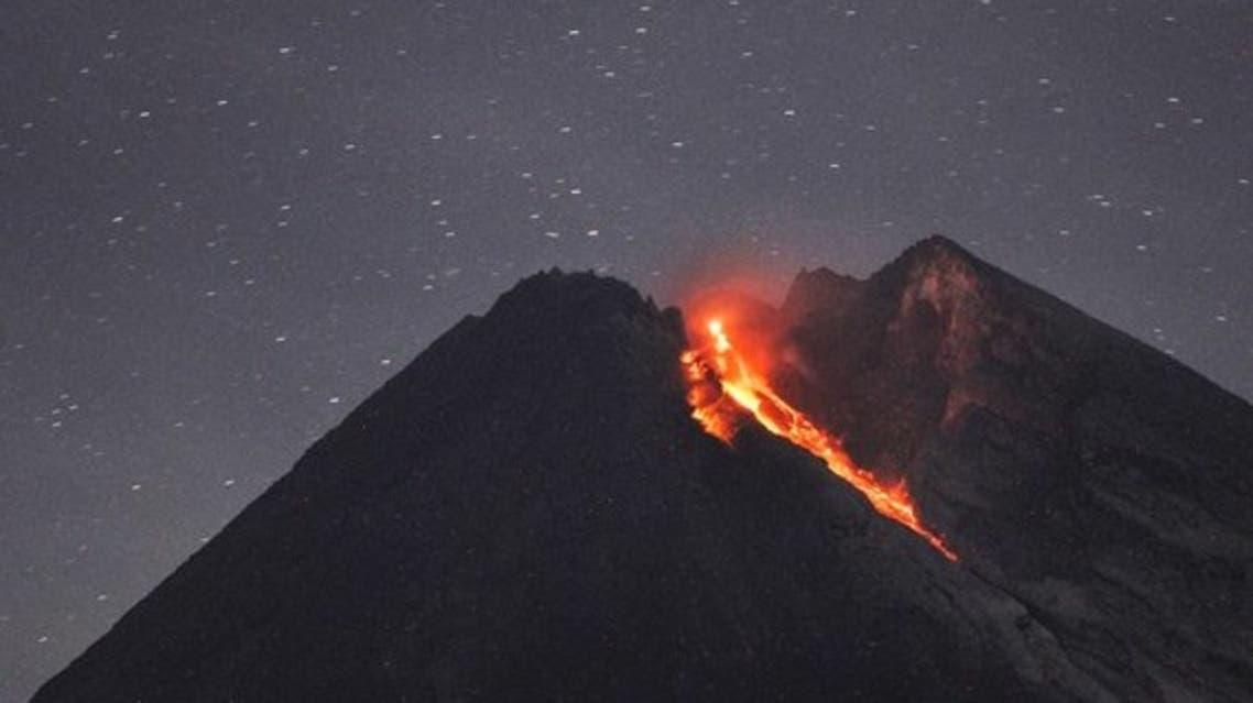 بركان في اندونيسيا