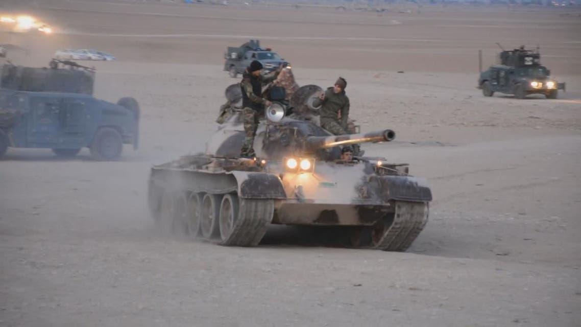 القوات العراقية تستعد للهجوم على داعش في 5 محافظات
