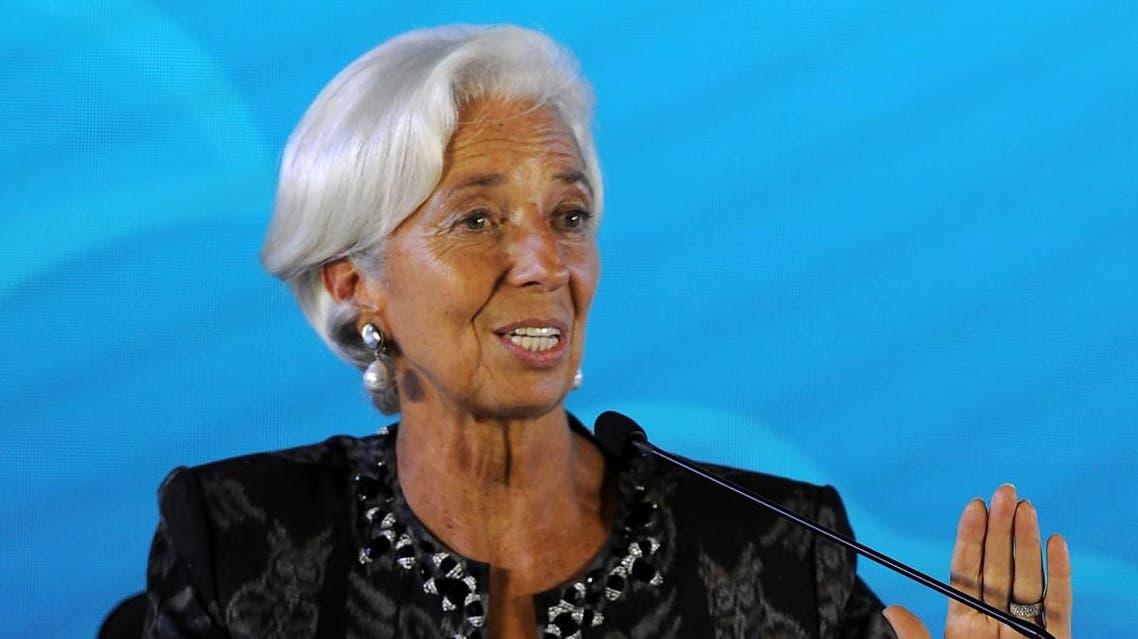 IMF Managing Director Christine Lagarde (AFP)