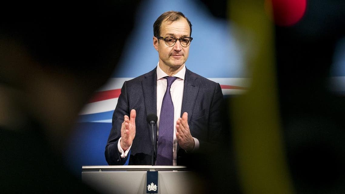 Dutch Economy Minister Eric Wiebes (AFP)
