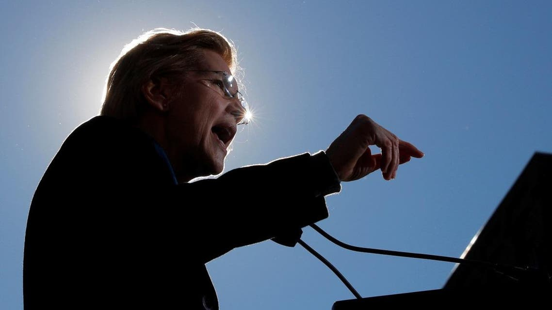 US Senator Elizabeth Warren speaks at a rally to launch her campaign for the 2020 Democratic presidential nomination in Lawrence. (AP)