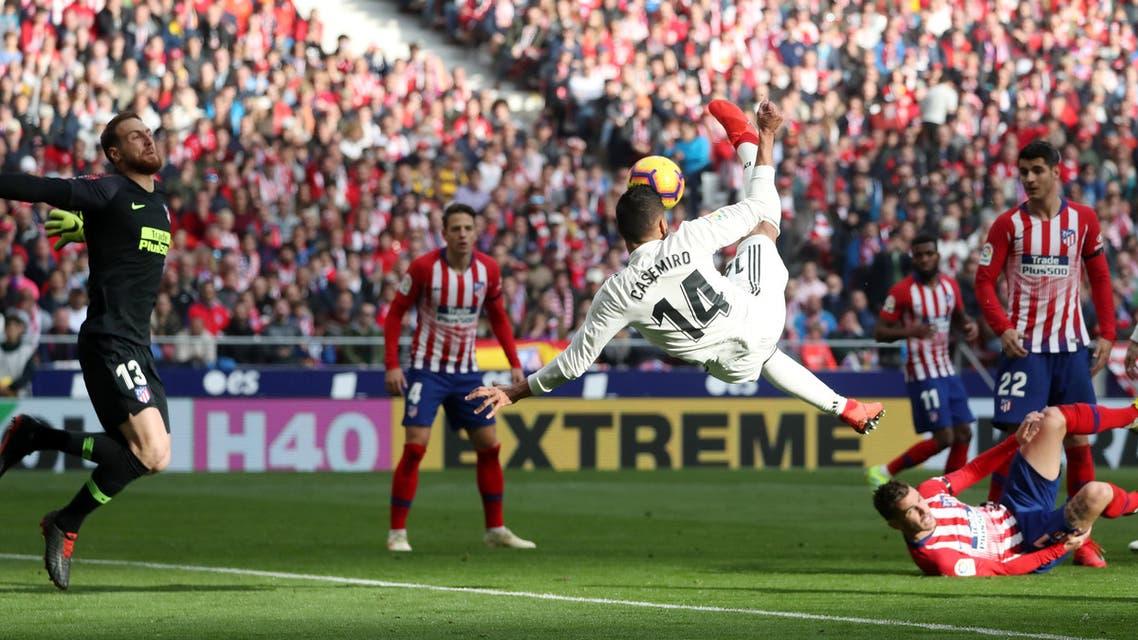 ريال مدريد أتلتيكو مدريد