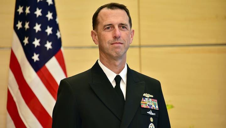 جان ریچاردسون، فرمانده نیروی دریایی آمریکا