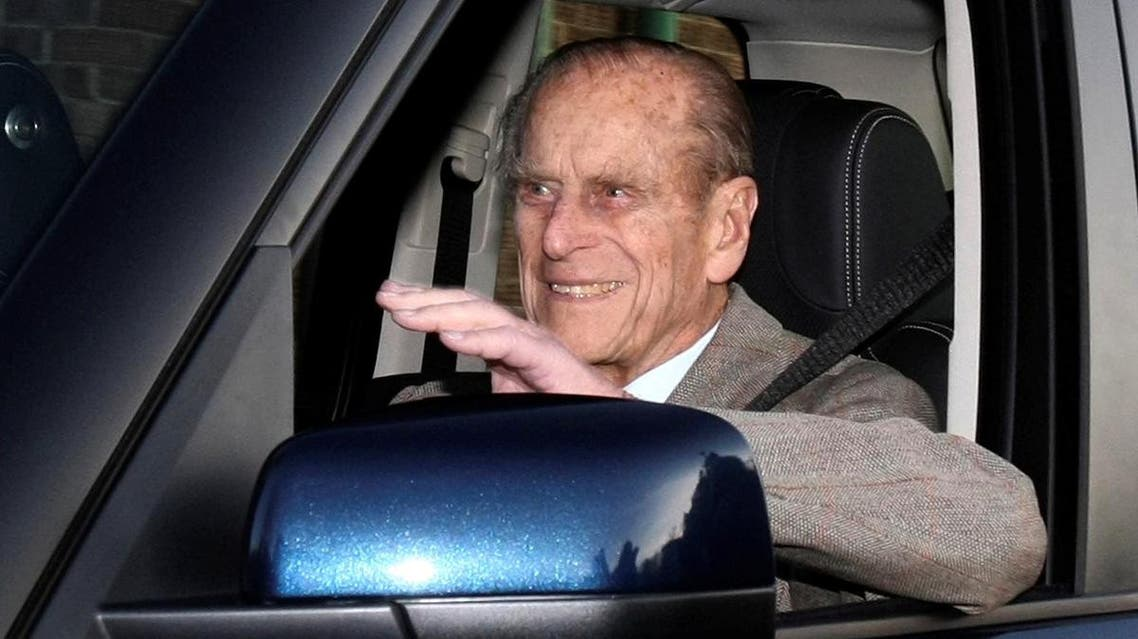 Britain's Prince Philip is driven away from Papworth Hospital in southern England. (File photo: Reuters)