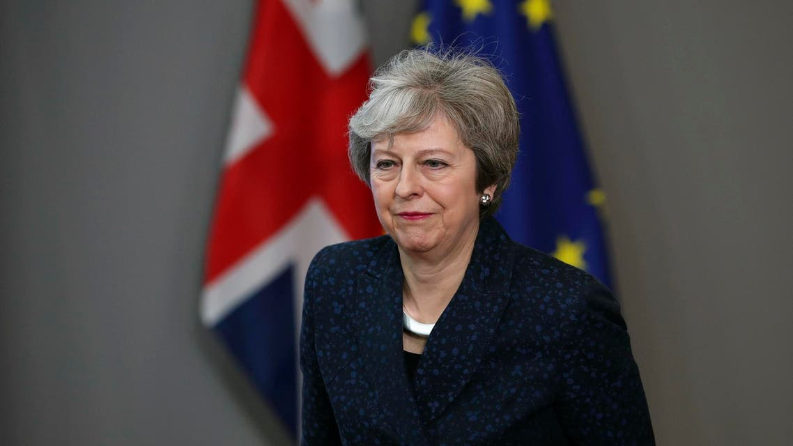 The British government asked lawmakers on Sunday to give Prime Minister Theresa May more time to rework her divorce deal with the European Union. (File photo: AP)