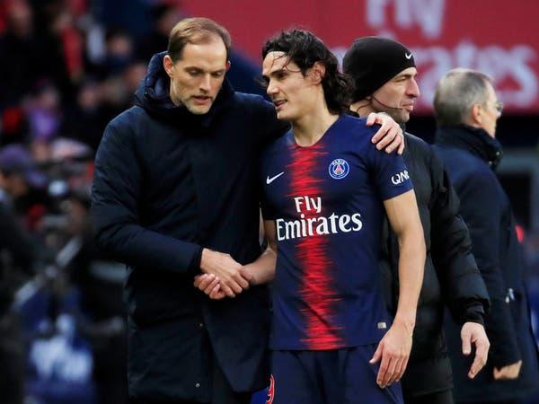 باريس سان جيرمان يعلن غياب مونييه وكافاني للإصابة