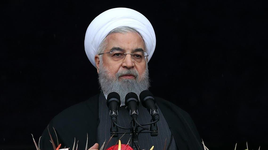 Iran Rouhani 40 anniversary Islamic Revolution 3 (AFP)
